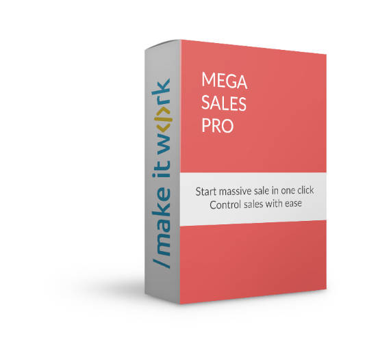 Mega Sales Pro OpenCart extension